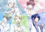akito_shukuri blue_hair grey_eyes heishi_otomaru kakeru_yuiga nijou_sakuya norn9 senri_ichinose teita