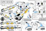 80s alien choujikuu_yousai_macross comparison energy_cannon fan_character highres macross mecha oldschool original redesign regult science_fiction technical translation_request walker wirg zentradi