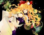 bad_id blonde_hair blue_eyes long_hair macross macross_frontier macross_frontier:_itsuwari_no_utahime sheryl_nome yuno_(fsblomo)