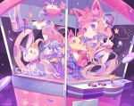 1girl animal_ears cat_ears cat_girl cat_tail crane_game english leggings original skirt solo tail yumenouchi_chiharu