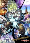 6+boys animal_ears armor bald beerus black_eyes black_hair blonde_hair bruise cape cat_ears child congratulations dated dougi dragon_ball dragon_ball_(object) dragonball_z earrings egyptian_clothes energy_ball facial_mark floating_rock forehead_mark frieza highres injury jacket jewelry kim_yura_(goddess_mechanic) kuririn majin_buu multiple_boys multiple_persona nappa one_eye_closed paneled_background piccolo_daimaou scouter shirtless signature son_gohan son_gokuu sparkle speed_lines staff super_saiyan torn_clothes trunks_(dragon_ball) vegeta younger