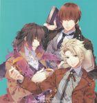 brown_eyes brown_hair itsuki_kagami kakeru_yuiga muroboshi_ron norn9 teita