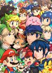 6+boys animal_ears armor bird black_hair blonde_hair blue_eyes blue_hair bowser brown_hair captain_falcon charizard dark_pit dark_skin dog dog_(duck_hunt) duck_(duck_hunt) duck_hunt f-zero facial_hair falco falco_lombardi fire_emblem fire_emblem:_akatsuki_no_megami fire_emblem:_kakusei fire_emblem:_monshou_no_nazo fire_emblem:_souen_no_kiseki fox_ears fox_mccloud fox_tail ganondorf green_eyes greninja hat headband helmet ike kid_icarus king_dedede kirby link little_mac long_hair lucario luigi mario mario_(series) marth mask meta_knight mother_(game) mother_2 mr._game_&_watch multiple_boys mustache ness olimar pac-man pac-man_(game) pikachu pikmin pikmin_(creature) pit_(kid_icarus) pointy_ears pokemon pokemon_(game) punch-out!! r.o.b red_eyes redhead rockman rockman_(character) rockman_(classic) short_hair shulk smash_ball smile star_fox super_mario_bros. super_smash_bros. tail tama!_(lazyturtle) the_legend_of_zelda the_legend_of_zelda:_breath_of_the_wild the_legend_of_zelda:_the_wind_waker the_legend_of_zelda:_twilight_princess toon_link wario warioware xenoblade yoshi