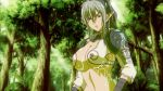 arms_(company) echidna forest jungle nature queen's_blade screencap wet wet_clothes