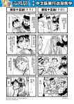 1boy 1girl 4koma blood blood_from_mouth chinese comic genderswap gloves greyscale hat henohenomoheji highres journey_to_the_west monochrome otosama scarecrow tang_sanzang tearing_up translation_request trench_coat