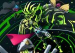 4boys absurdres armor bang_bang_simulations_level_50 belt cape clock commentary_request highres kamen_rider kamen_rider_brave kamen_rider_cronus kamen_rider_ex-aid kamen_rider_ex-aid_(series) kamen_rider_snipe male_focus maximum_mighty_x_level_99 multiple_boys otokamu outstretched_arm taddle_fantasy_level_50 trench_coat
