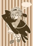 halftone komeiji_satori monochrome taki_tarou takitarou touhou