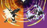 absurdres dawn_wings_necrozma dusk_mane_necrozma fusion highres lunala necrozma official_art pokemon pokemon_(game) pokemon_sm pokemon_ultra_sm solgaleo sugimori_ken