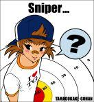 bandaid baseball_cap brown_hair hat kzm twintails