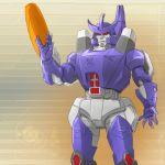 1boy arm_cannon galvatron iesupa logo robot solo transformers weapon