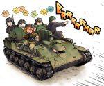 ground_vehicle gun hayami_rasenjin military military_vehicle motor_vehicle ppsh-41 self-propelled_gun sound_effects su-76 submachine_gun tank weapon