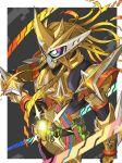 1boy armor highres kamen_rider kamen_rider_ex-aid kamen_rider_ex-aid_(series) male solo tonami_kanji