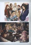 6+boys 6+girls ;) absurdres alternate_costume aqua_eyes bare_shoulders baseball_cap beanie between_breasts black_hair blonde_hair blue_eyes braid breasts brown_hair bubble_blowing cagliostro_(granblue_fantasy) card casual chewing_gum clarisse_(granblue_fantasy) cleavage collarbone contemporary couch crown_braid doraf dress elbow_gloves erun_(granblue_fantasy) eyepatch fishnet_pantyhose fishnets glasses gloves granblue_fantasy grin hand_in_hair hands_in_pockets harbin hat high_heels highres hood hoodie horns jewelry lancelot_(granblue_fantasy) large_breasts legs_crossed long_hair minaba_hideo multiple_boys multiple_girls narumeia_(granblue_fantasy) necktie official_art one_eye_closed orange_hair pants pantyhose parted_lips percival_(granblue_fantasy) pink_hair ponytail red_eyes redhead scan siegfried_(granblue_fantasy) sitting smile tania_(granblue_fantasy) vane_(granblue_fantasy) zeta_(granblue_fantasy)
