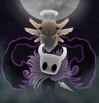 absurdres cryomancer highres hollow_knight knife moon no_humans pokemon shedinja