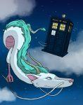 crossover doctor_who dragon haku sen_to_chihiro_no_kamikakushi tardis
