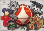 alien armor chibi china_dress chinese_clothes choujikuu_yousai_macross commentary dagova_(artist) doll dress energy_cannon head helmet hybrid jolly_roger logo lynn_minmay maclone macross macross_2 mardook mecha n.u.n.s. regult roundel science_fiction skull space_craft space_station spacesuit toy u.n._spacy v variable_fighter vf-1 vf-1_strike vf-1d vf-1j vf-1s walker zentradi