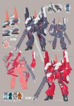 absurdres advance_of_zeta advance_of_zeta_re-boot barzam brown_background gundam highres kenki_fujioka mecha no_humans official_art