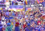 6+boys 6+girls agano_(kantai_collection) asakaze_(kantai_collection) blue_hat blue_sailor_collar clock commentary_request etorofu_(kantai_collection) hairband harukaze_(kantai_collection) hat horn horns houshou_(kantai_collection) i-13_(kantai_collection) i-14_(kantai_collection) i-168_(kantai_collection) i-19_(kantai_collection) i-26_(kantai_collection) i-401_(kantai_collection) i-8_(kantai_collection) japanese_clothes jun'you_(kantai_collection) kamikaze_(kantai_collection) kamoi_(kantai_collection) kantai_collection kimono kunashiri_(kantai_collection) long_hair maru-yu_(kantai_collection) matsukaze_(kantai_collection) meiji_schoolgirl_uniform multiple_boys multiple_girls name_tag neckerchief northern_ocean_hime noshiro_(kantai_collection) ooyodo_(kantai_collection) pink_kimono red_eyes ro-500_(kantai_collection) ryuujou_(kantai_collection) sailor_collar sailor_hat sakawa_(kantai_collection) sakazaki_freddy school_uniform seaport_hime serafuku shimushu_(kantai_collection) shinkaisei-kan short_sleeves sun sunlight swimsuit swimsuit_under_clothes taihou_(kantai_collection) tasuki two-tone_hairband white_hair white_hat white_sailor_collar yahagi_(kantai_collection) yuubari_(kantai_collection)