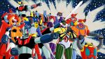 70s absurdres axe cape creator_connection crowd drill epic gaiking gaiking_(dmg) gakeen getter-1 getter-2 getter-3 getter_dragon getter_liger getter_poseidon getter_robo getter_robo_g great_mazinger great_mazinger_(robot) grendizer groizer_x groizer_x_(mecha) highres horns koutetsu_jeeg koutetsu_jeeg_(mecha) magne_robo_gakeen mazinger_z mazinger_z_(mecha) mecha nagai_gou_(style) official_style oldschool science_fiction super_robot sword ufo_robo_grendizer weapon zer013