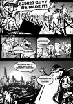 4chan anonymous big_band comic eccma417 english engrish leviathan_(skullgirls) monochrome ranguage skullgirls squigly_(skullgirls) truth