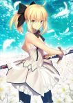 blonde_hair fate/extra long_hair saber_lily warrior
