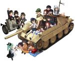 10s anchovy caesar_(girls_und_panzer) cross_section emblem erwin_(girls_und_panzer) extra girls_und_panzer ground_vehicle gun hat hoshino_(girls_und_panzer) jagdpanzer_38(t) kadotani_anzu katahira_masashi kawashima_momo koyama_yuzu mika_(girls_und_panzer) military military_uniform military_vehicle motor_vehicle nakajima_(girls_und_panzer) ooarai_(emblem) ooarai_military_uniform ooarai_school_uniform oryou_(girls_und_panzer) pepperoni_(girls_und_panzer) ritaiko_(girls_und_panzer) saemonza suzuki_(girls_und_panzer) tank tsuchiya_(girls_und_panzer) uniform weapon