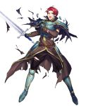 fire_emblem fire_emblem:_seima_no_kouseki fire_emblem_heroes full_body highres official_art seth_(fire_emblem) transparent_background