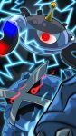 highres magnezone metagross pokemon pokemon_(creature) red_eyes vibrantechoes