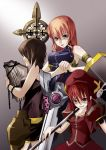 book graf_eisen hammer hat levantine mahou_shoujo_lyrical_nanoha mahou_shoujo_lyrical_nanoha_a's mahou_shoujo_lyrical_nanoha_strikers schwertkreuz signum staff sword tome_of_the_night_sky vita weapon yagami_hayate