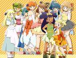 6+girls age_difference artist_request child eureka_(pokemon) female haruka_(pokemon) hikari_(pokemon) iris_(pokemon) kasumi_(pokemon) lillie_(pokemon) mao_(pokemon) multiple_girls pokemon pokemon_(anime) pokemon_(game) serena_(pokemon) suiren_(pokemon)