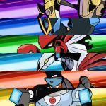aegislash black_iron empoleon lowres lucario magnezone pokemon pokemon_(creature) scizor skarmory