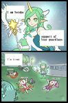 ahri comic highres jinx_(league_of_legends) league_of_legends leng_wa_guo luxanna_crownguard poppy soraka star_guardian_ahri star_guardian_jinx star_guardian_lux star_guardian_soraka translated