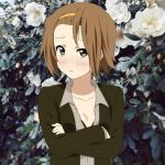 1girl brown_eyes brown_hair k-on! short_hair solo tagme tainaka_ritsu