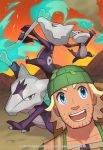 2017 alolan_marowak hiker_(pokemon) marowak official_art pokemon pokemon_(game) pokemon_sm pokemon_trading_card_game saitou_naoki trading_card watermark