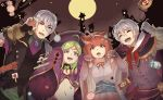 2boys 2girls animal_ears blush cape cat_ears closed_eyes dress fire_emblem fire_emblem:_kakusei fire_emblem_heroes fire_emblem_if formal gloves green_hair grey_hair hairband henry_(fire_emblem) japanese_clothes joker_(fire_emblem_if) kimono long_hair looking_at_viewer low_ponytail multiple_boys multiple_girls nekomata nono_(fire_emblem) open_mouth pink_hair ponytail redhead sakura_(fire_emblem_if) scar short_hair shy_(ribboneels) smile suit violet_eyes white_hair witch zombie