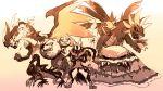 alolan_muk highlandfox highres hydreigon mega_charizard_x mega_lucario pocket_monsters_pipipi_adventure pokemon pokemon_(anime) pokemon_(game) pokemon_sm_(anime) salazzle weezing