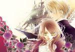 edgar flower hakushaku_to_yousei lace lydia purple roses ship