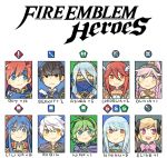 aqua_(fire_emblem_if) armor berkut_(fire_emblem) black_hair blue_eyes blue_hair chibi dress elise_(fire_emblem_if) fire_emblem fire_emblem:_fuuin_no_tsurugi fire_emblem:_kakusei fire_emblem:_rekka_no_ken fire_emblem_echoes:_mou_hitori_no_eiyuuou fire_emblem_if green_hair headband lilina long_hair looking_at_viewer male_my_unit_(fire_emblem:_kakusei) mother_and_son my_unit_(fire_emblem:_kakusei) ninian nino_(fire_emblem) olivia_(fire_emblem) open_mouth ponytail red_eyes redhead roy_(fire_emblem) short_hair smile tiamo twintails veil white_hair yellow_eyes