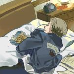 hotel_dusk kyle_hyde potato_chips sleeping