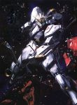 char's_counterattack char's_counterattack damage damaged gundam highres mecha nu_gundam space