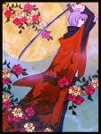 flower japanese_clothes narukami_yuu persona persona_4 seta_souji sword weapon