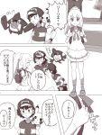 highres lillie_(pokemon) pikachu pokemon pokemon_(anime) pokemon_(game) pokemon_sm pokemon_sm_(anime) rotom_dex satoshi_(pokemon) translation_request z-ring