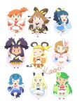 6+girls alolan_vulpix alolan_vulpix_(cosplay) beautifly cosplay dedenne dedenne_(cosplay) emolga emolga_(cosplay) eureka_(pokemon) goldeen goldeen_(cosplay) haruka_(pokemon) highres hikari_(pokemon) iris_(pokemon) kasumi_(pokemon) lillie_(pokemon) mao_(pokemon) multiple_girls piplup piplup_(cosplay) pokemon pokemon_(anime) popplio popplio_(cosplay) serena_(pokemon) source_request steenee suiren_(pokemon) sylveon sylveon_(cosplay)