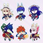 book cape cat chibi deer dog falchion_(fire_emblem) female_my_unit_(fire_emblem_if) fire_emblem fire_emblem:_fuuin_no_tsurugi fire_emblem:_kakusei fire_emblem:_monshou_no_nazo fire_emblem:_souen_no_kiseki fire_emblem_if furry headband horns ike long_hair lucina male_my_unit_(fire_emblem:_kakusei) marth my_unit_(fire_emblem:_kakusei) my_unit_(fire_emblem_if) rabbit red_eyes roy_(fire_emblem) short_hair sword weapon white_hair wolf