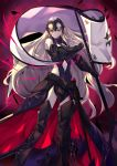 1girl commentary_request fate/grand_order fate_(series) haik highres jeanne_alter long_hair looking_at_viewer ruler_(fate/apocrypha) solo