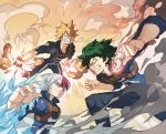 3boys bakugou_katsuki boku_no_hero_academia fighting ice image_sample midoriya_izuku multiple_boys teeth todoroki_shouto tumblr_sample