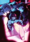 10s 1girl 3boys bandage kurusu_akira mishima_yuuki multiple_boys niijima_makoto noctilin persona persona_5 sakamoto_ryuuji