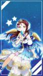 angel brown_eyes long_hair maroon_hair sakurauchi_riko