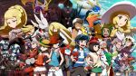6+boys 6+girls alola_form alolan_raticate amamo_(pokemon) backpack bag baseball_cap beanie blacephalon black_hair black_jacket black_pants black_shirt blonde_hair blue_eyes blue_shirt blue_skin braid brother_and_sister bucket_hat buzzwole celesteela copyright_name cosmog dark_skin dark_skinned_male decidueye dress dulse_(pokemon) eyewear_on_head facial_hair gladio_(pokemon) glasses green_eyes green_hair green_shorts grey_hair gumshoos guzma_(pokemon) guzzlord hala_(pokemon) handbag hapu'u_(pokemon) hat hau_(pokemon) highres holding holding_poke_ball incineroar island_kahuna jacket kartana kommo-o kuchinashi_(pokemon) kukui_(pokemon) labcoat lillie_(pokemon) long_hair lunala lurantis lusamine_(pokemon) lychee_(pokemon) mimikyu mirin_(pokemon) mizuki_(pokemon_sm) mizuki_(pokemon_ultra_sm) mother_and_daughter mother_and_son multiple_boys multiple_girls mustache necrozma nihilego open_labcoat open_mouth orange_hair orange_shirt pants pheromosa pichu pink_hair plumeri_(pokemon) poipole poke_ball pokedex pokemon pokemon_(creature) pokemon_(game) pokemon_sm pokemon_ultra_sm ponytail primarina purple_hair red_eyes red_hat rotom rotom_dex salazzle sauboo_(pokemon) shionira_(pokemon) shirogane_yu shirt short_hair short_sleeves shorts siblings silvally sleeveless sleeveless_dress smile solgaleo stakataka striped striped_shirt sun_hat sunglasses tank_top tapu_bulu tapu_fini tapu_koko tapu_lele tied_shirt torn_clothes torn_pants twin_braids ultra_beast ultra_recon_squad_uniform vikavolt white_dress white_hair white_hat white_shirt white_shorts wicke_(pokemon) wishiwashi xurkitree you_(pokemon_sm) you_(pokemon_ultra_sm) z-ring