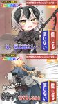 2girls ahoge black_bow blonde_hair bow braid carrying_under_arm chibi comic dual_persona fate/grand_order fate_(series) flying_sweatdrops gauntlets grey_hair hair_bow holding jeanne_d'arc_(alter)_(fate) jeanne_d'arc_(fate) jeanne_d'arc_(fate)_(all) long_braid mirui multiple_girls open_mouth parody short_hair single_braid translation_request yellow_eyes younger